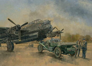 A Lancaster and a Bentley, 2000 Reproducere