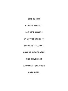 Ilustrare life is not always perfect