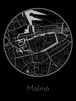 Map Malmö