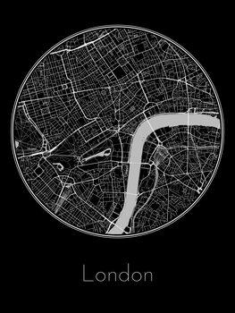 Ilustrare Map of London