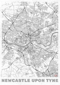 Ilustrare Newcastle Upon Tyne