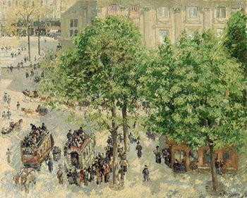 Place du Theatre-Francais, Spring, 1898 Reproducere