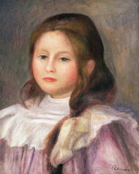 Portrait of a child, c.1910-12 Reproducere