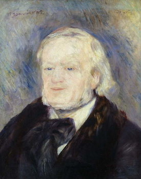 Portrait of Richard Wagner (1813-83) 1882 Reproducere
