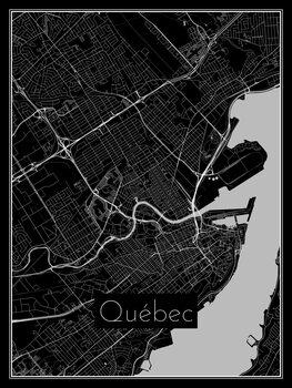 Harta orașului Québec