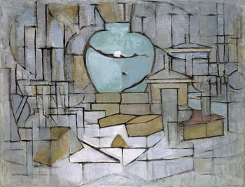 Still Life with Gingerpot 2, 1912 Reproducere