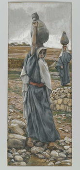 The Holy Virgin in her Youth, illustration from 'The Life of Our Lord Jesus Christ' Reproducere