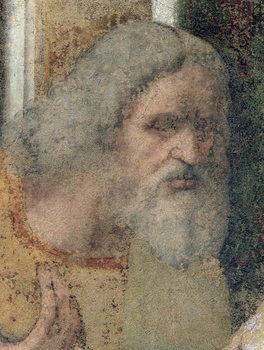 The Last Supper, 1495-97 (fresco) (post restoration) Reproducere