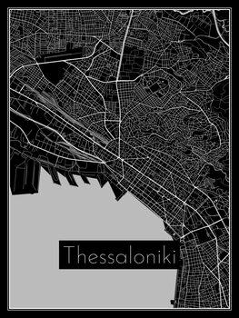 Map Thessaloniki