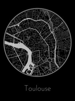 Map Toulouse