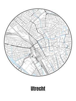 Map Utrecht