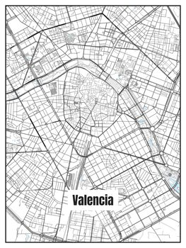 Map Valencia
