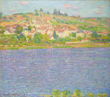 Vetheuil in the Sun; Vetheuil, effet de Soleil, 1901 Reproducere