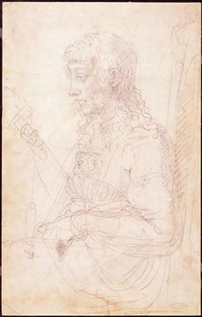 W.40 Sketch of a female figure Reproducere