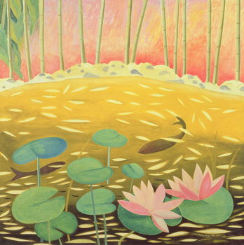 Water Lily Pond III, 1994 Reproducere