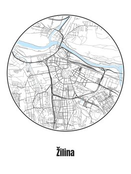 Map Žilina