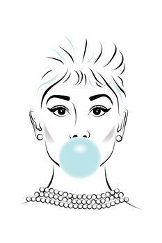 Ilustracija Audrey