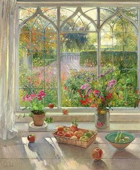 Autumn Fruit and Flowers, 2001 Reprodukcija