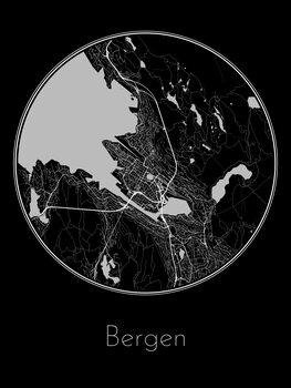Zemljevid Bergen