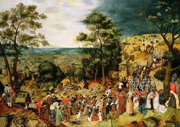 Christ on the Road to Calvary, 1607 Reprodukcija