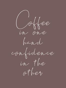 Ilustracija Coffee & confidence