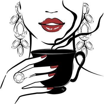 Ilustracija Coffee Time