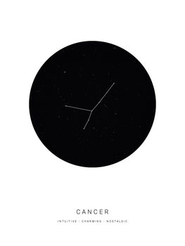 Ilustracija horoscopecancer
