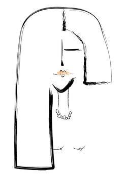 Ilustracija Lipstick