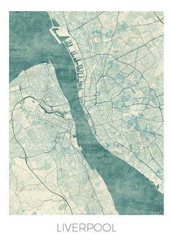 Zemljevid Liverpool