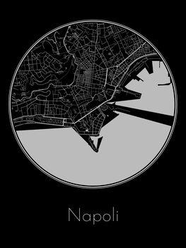 Zemljevid Napoli