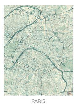 Zemljevid Paris
