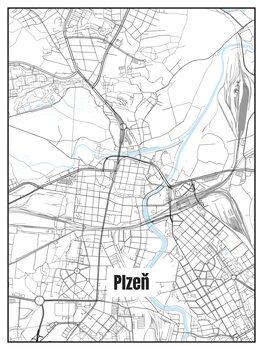 Zemljevid Plzeň