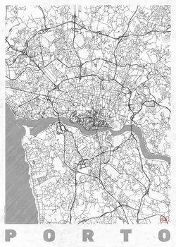 Zemljevid Porto