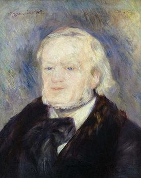 Portrait of Richard Wagner (1813-83) 1882 Reprodukcija