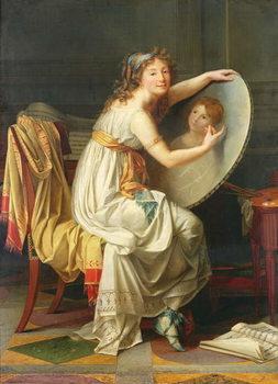 Portrait of Rose Adelaide Ducreux (1761-1802) Reprodukcija