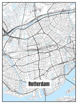 Zemljevid Rotterdam