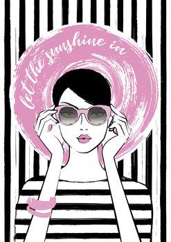 Ilustracija Sunshine girl