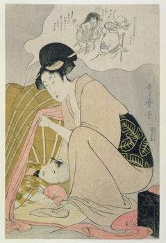 T H Riches 1913. Child having a Nightmare, c.1801 Reprodukcija