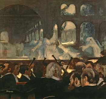 The ballet scene from Meyerbeer's opera 'Robert le Diable', 1876 Reprodukcija