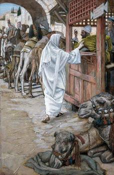 The Calling of St. Matthew, illustration for 'The Life of Christ', c.1886-94 Reprodukcija