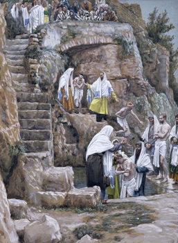 The Disciples of Jesus Baptising, illustration for 'The Life of Christ', c.1886-94 Reprodukcija