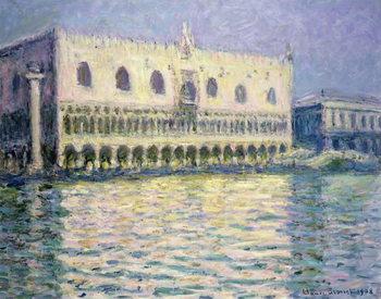 The Ducal Palace, Venice, 1908 Reprodukcija