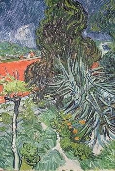 The Garden of Doctor Gachet at Auvers-sur-Oise, 1890 Reprodukcija