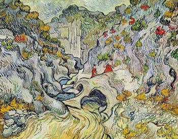 The ravine of the Peyroulets, 1889 Reprodukcija
