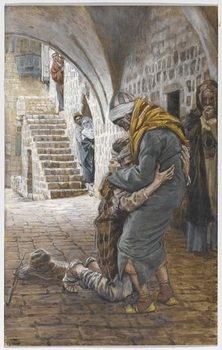 The Return of the Prodigal Son, illustration for 'The Life of Christ', c.1886-96 Reprodukcija