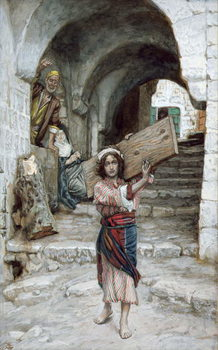 The Youth of Jesus, illustration for 'The Life of Christ', c.1886-94 Reprodukcija