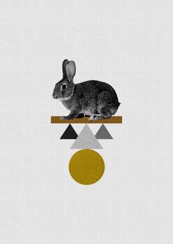 Ilustracija Tribal Rabbit