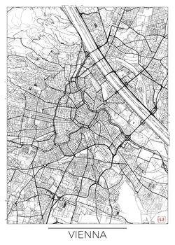 Zemljevid Vienna