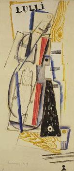 Abstract Lulli, 1919 Reprodukcija