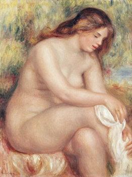 Bather Drying Herself, c.1910 Reprodukcija
